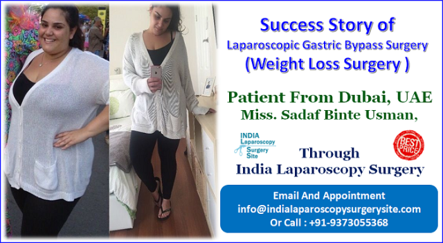 A UAE Patient gets her successful Laparoscopic Gastric Bypass Surgery in India